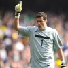 Julio Cesar made a rare mistake against the Netherlands last summer