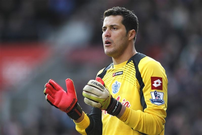 Q.P.R.'s Julio Cesar makes disappointing return to first ...