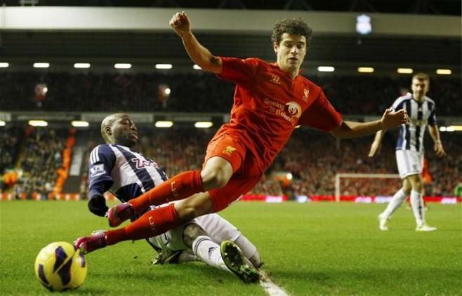 Liverpool's Coutinho wants more goals in his strive for improvement