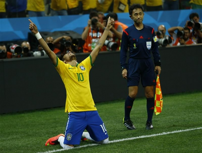 Brazil 3-1 Croatia: Hosts need controversial penalty to secure hard-fought opening day victory