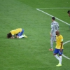 The Brazil players devastated after their 7-1 defeat to Germany