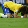 David Luiz: guilty of misdirected drive and determination at the World Cup