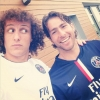 David Luiz will hope to be in action alongside Maxwell this weekend
