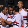Sao Paulo was victorious against Cruzeiro