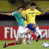 Coutinho in action for Brazil