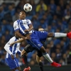 FC Porto's Alex Sandro heads the ball during their UEFA Champions League quarter-final first leg match against Bayern Munich at Estádio do Dragão on 15th April, 2015