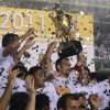 Santos will be hoping to lift another trophy soon
