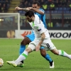 VfL Wolfsburg's Vierinha (8) fights for the ball with Internazionale's Juan Jesus during their UEFA Europa League round of 16 second leg match at San Siro on 19th March, 2015