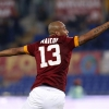 Roma's Maicon celebrates after scoring against Empoli during their Serie A match at Stadio Olimpico on 31st January, 2015