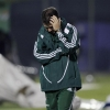 Fluminense Head Coach Enderson Moreira reacts during their loss to Libertad in a Copa Libertadores de América match at Dr. Nicolás Léoz on 4th May, 2011