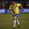 Ronaldo in action for Brazil
