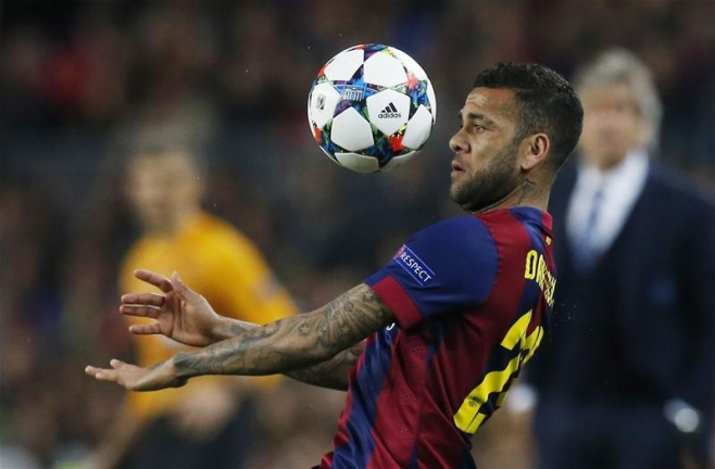 Is Barcelona's Dani Alves the real Brazilian full back Chelsea should be looking at?